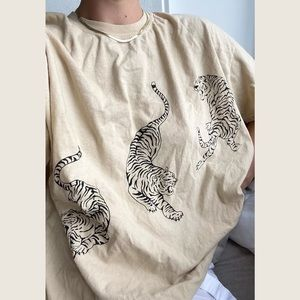 Project Social T Tiger Oversized T-Shirt S/M